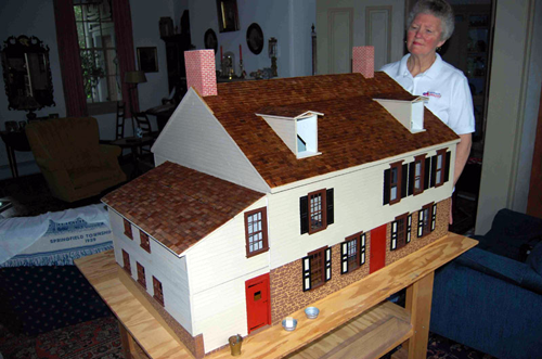 18th century furniture living history shop for Scale model furniture