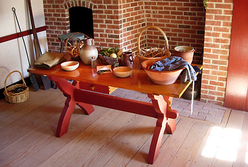 18th Century Kitchenware Living History Shop