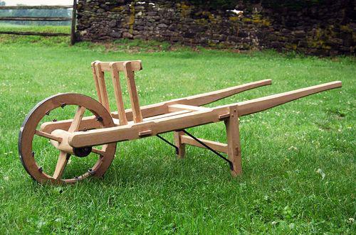 White Oak Wheelbarrows Living History Shop